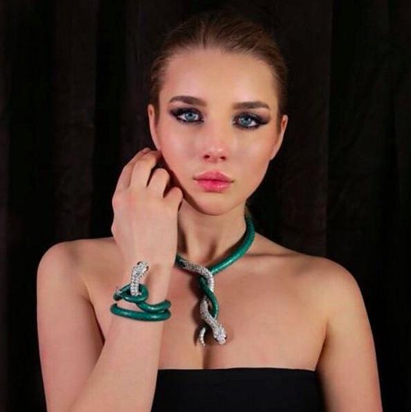 Анастасия Михайлюта стала лицом ювелирного бренда Jacob & Co